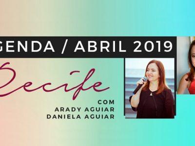 [AGENDA PE] Cursos e workshops com Arady e Daniela Aguiar, em abril, no Recife