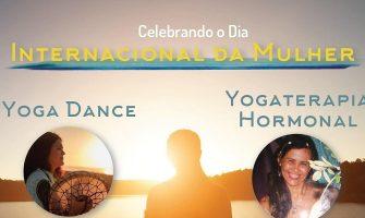 [AGENDA PE] Yoga Dance e Yogaterapia Hormonal neste sábado, em comemoração ao Dia da Mulher