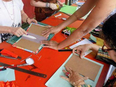 [AGENDA PE] Oficina de Encadernação Artesanal dias 27 e 28 de abril no Recife