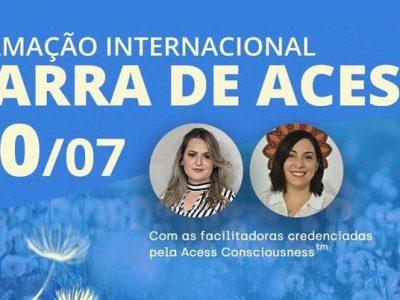 [AGENDA PE] Formação Internacional em Barra de Access®, dia 20/7, no Recife