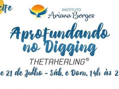 [AGENDA PE] Curso Aprofundando no Digging ThetaHealing® dias 20 e 21/7 no Recife
