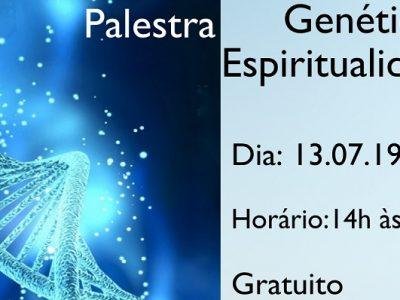 [AGENDA PE] Palestra gratuita com o tema 'Genética e Espiritualidade', neste sábado, no Recife