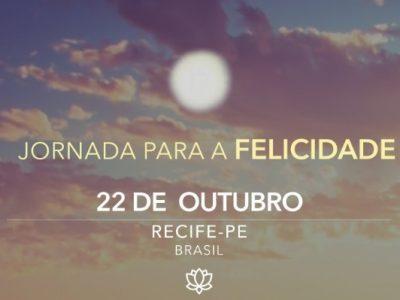 [AGENDA PE] Curso 'Jornada para a Felicidade' acontece no dia 22 de outubro