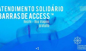 [AGENDA PE] Atendimentos solidários com Barras de Access™