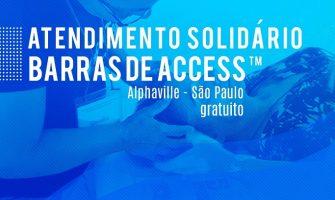 [AGENDA PE] Atendimentos Solidários com Barras de Access neste domingo em Alphaville