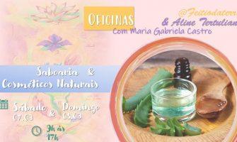 [AGENDA PE] Curso de Saboaria e Cosméticos Naturais, dias 7 e 8 de março, no Recife