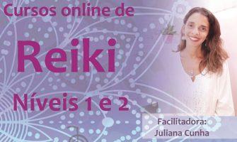 [AGENDA] Cursos de Reiki On-line Níveis 1 e 2, com Juliana Cunha