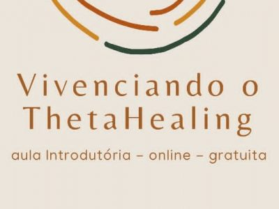 [AGENDA] Aula introdutória de ThetaHealing®, on-line e gratuita, dia 5/12