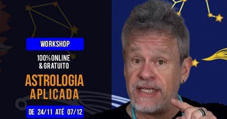 Workshop On-line de Astrologia, gratuito, com Otávio Leal