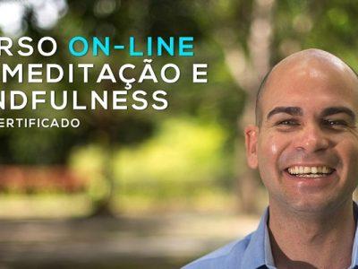 Curso On-line de Meditação e Mindfulness