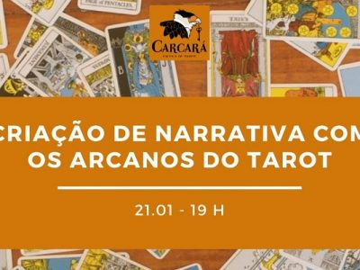 [AGENDA] Mini-curso on-line 'Criação de narrativa com os Arcanos do Tarot', dia 21/1