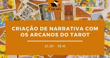 [AGENDA] Mini-curso on-line 'Criação de narrativa com os Arcanos do Tarot', dia 21/1
